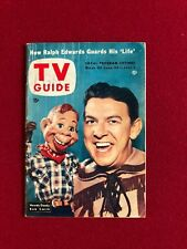 """1954, Howdy Doody, """"TV Guide"""" (No Label) Scarce"""