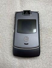 Motorola Razr V3C Gray Flip Cellular Phone