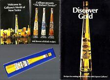 Vintage Collectible Galliano Italian Liqueur Cocktail Recipe Booklet Collection