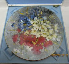 Hahn Vidal Country Bouquet Limited Edition Plate by Royal Doulton -10in, Floral