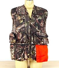 Master Sportsman Size L Camo Mesh Hunting 13 Pocket Vest Detachable Seat Cushion
