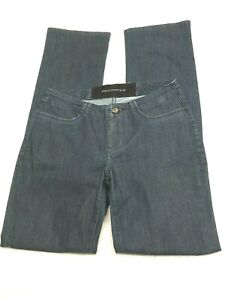 Christopher Blue Stretch Mid Rise Dark Wash Jeans Women's Size 4 Long
