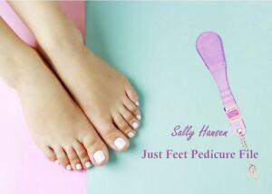 Sally Hansen Just Feet Pedicure File / Exfoliating Tool *NEW* Nail/Foot Spa File