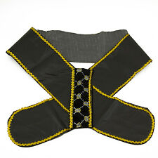 Black Sash Pirate Sash Prince Royal Princess Queen Belt Costume Accessory New