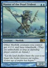 MTG 1x MASTER OF THE PEARL TRIDENT - M13 *Top Rare For Merfolk Deck NM*