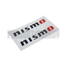 Nismo KWAA0-50720-BK Logo Mini Decals Stickers Black Pair JDM Genuine Part
