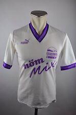 90er Puma Vintage Trikot Shirt #9 Gr. XS oldschool MÖM MIX Österreich Milch alt