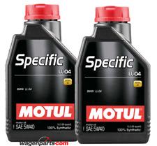 Aceite Motor Motul Specific BMW LL-04 5W40, pack 2 litros