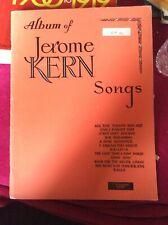 Album Of Jerome Kern Songs - Vintage Songbook