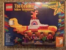 Lego The Beatles Yellow Submarine New In Box