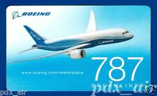 BOEING 787 LONG RANGE JET AIRLINER LIVERY STICKER