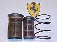 Ferrari 250 Engine Inner_Outer Oil Filter Screen Housing_Spring_24233_24239_OEM