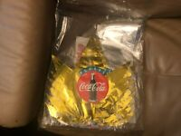 Coke Coca Cola collectibles Dealer new Christmas Decoration Kit Stocking promo