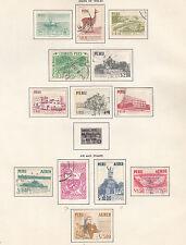Briefmarken aus Peru