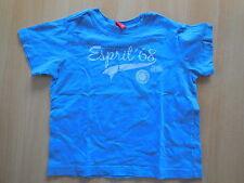 F415 ♥♥ ESPRIT ♥♥ 92/98 ~  tolles T-Shirt kurzarm ~ blau wenig getragen