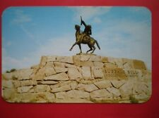 POSTCARD USA WYOMING CODY - BUFFALO BILL MONUMENT