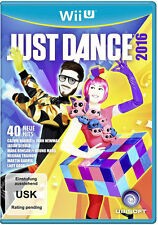 Nintendo Wii U WiiU Spiel ***** Just Dance 2016 * 16 ********************NEU*NEW