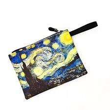Vincent Van Gogh Starry Night Bag Handbag Pencil case Cosmetic Purse Pouch 156