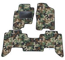 Armee-Tarnungs Autoteppich Auto-Matten für Nissan Pathfinder R51 2005-2012