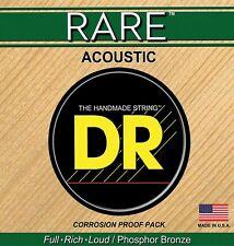 DR Rare Acoustic Guitar Strings 10's Lite RPL-10