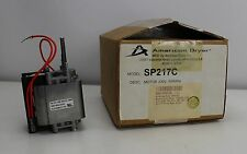 American Dryer  Replacement Motor 1/10HP 3200RPM 230V SP217C  NIB