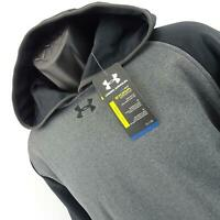 NWT Men Under Armour Loose Storm Coldgear Pullover Hoodie SweatShirt Size Medium