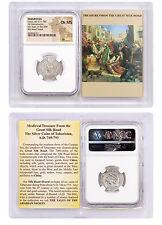 Tabaristan Silver Hemidrachm Umar Silk Road Hoard NGC Ch MS Story Vault SKU46886