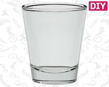 6 Dozen Blank Shot Glasses Clear Glass Barware Whiskey Rum Bulk Tequila 1.5 oz