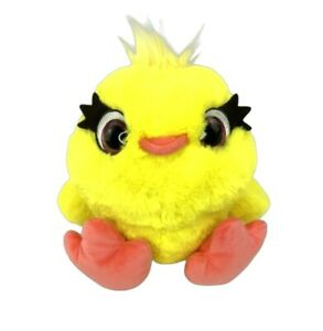 "Disney Pixar Toy Story 4 Talking Ducky Plush 10"" Stuffed Animal Glitter Eyes"