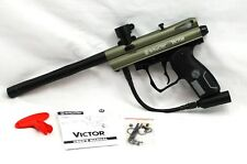 Barely Used Spyder Victor Olive Green Semi-automatic Paintball Marker Gun