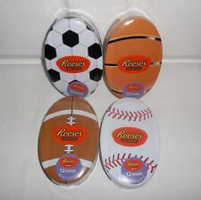 Reeses Milk Chocolate Peanut Butter Cups in Collectible Sport Easter Egg Tins
