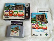 Jeu South Park 64 pour Nintendo 64 N64 PAL Complet CIB - Floto Games