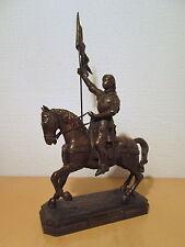 Statue sculpture régule Jeanne d'Arc héroine France Pucelle d'Orléans sainte