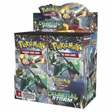 Pokemon TCG Sun & Moon Celestial Storm Booster Box NEW