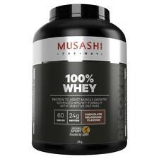 Musashi 100 Whey Protein Powder Vanilla Milkshake 2kg
