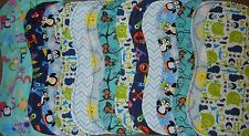 handmade burp cloth gender neutral double flannel group1b