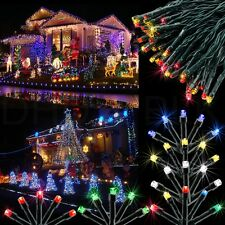 100 LED Solar Power Fairy Light String Lamp Party Christmas Xmas Decor Outdoor