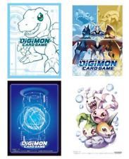 Digimon Card Game Sleeves Set of 4 Standard Size Agumon In Training Omnimon