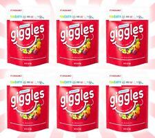 6 Yum Earth USDA Organic Giggles Chewy Candy 5 OZ Bags 9/22
