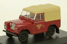 LAND ROVER SERIE II SWB CANVAS POSTE ANGLAISE 1/43 OXFORD
