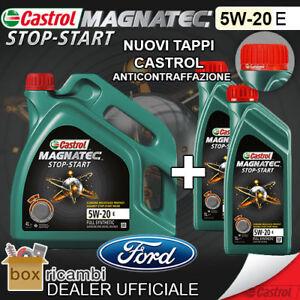 Olio CASTROL MAGNATEC 5W20 E FORD WSS-M2C948-B 6 LT Litro - CASTROL ITALIA