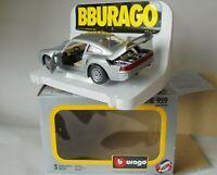 Bburago Porsche 959 Silver 1/24 Original Burago Mint Condition 34 Years Old