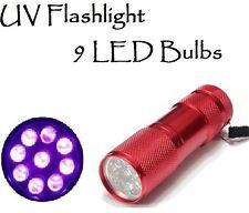 UV LED Flash Light for Detecting A/C Freon Automotive Fluid & Gas Leak