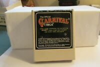 Vintage THE OFFICIAL CARNIVAL by Sega  - cartridge only FREE SHIPPING