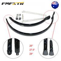 """MTB Bike Fender 26/27.5/29"""" Full Length Ultralight Protective Cover Front&Rear"""