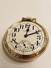 1930 Hamilton 992E 21j 16s RR 10kgf BOC pocket watch