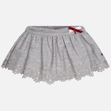 New Mayoral Baby Girls flannel openwork skirt, age 6 months 2901