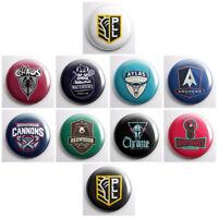 """PLL PREMIER LACROSSE LEAGUE – 1"""" fridge magnets OR pinback buttons – sports team"""