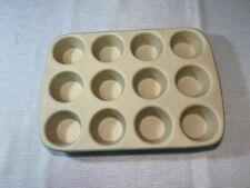 Pampered Chef Stoneware Muffin Cupcake Pan