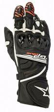 Alpinestars GP Plus R V2 Black / White Leather Motorbike/Motorcycle Race Gloves